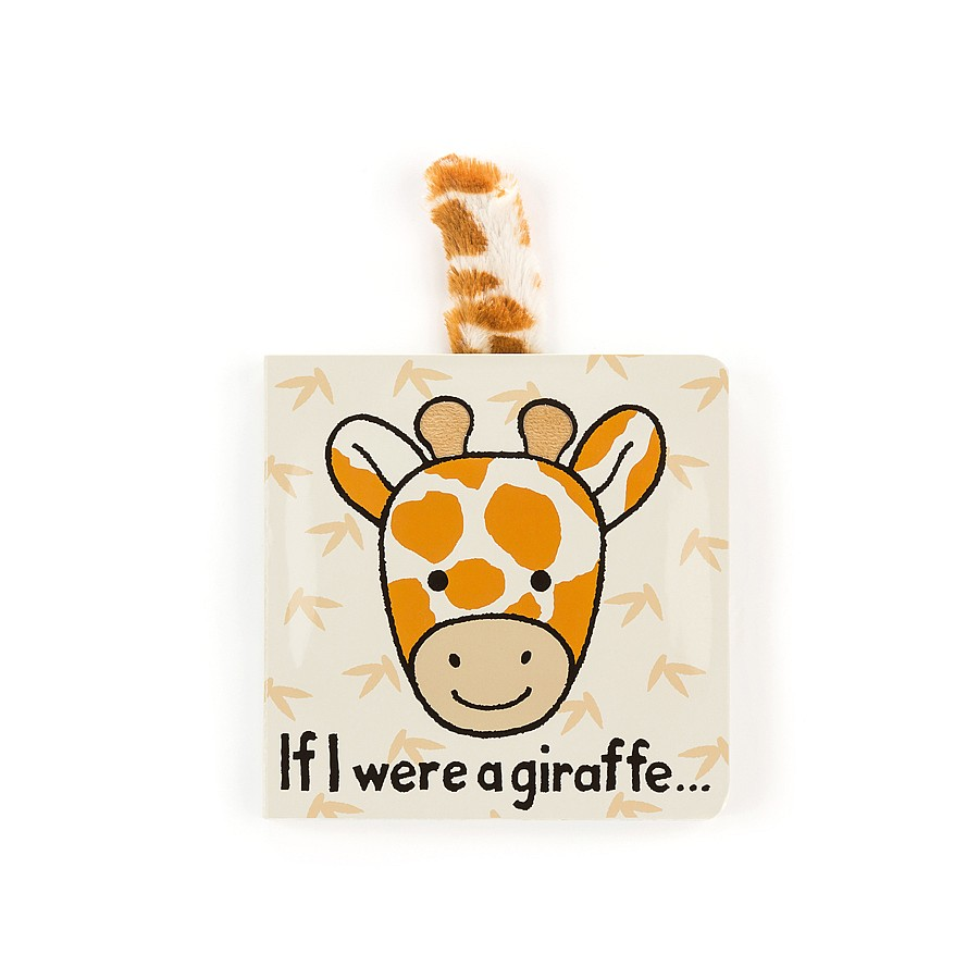 Jellycat If I Were a Giraffe (Board Book)